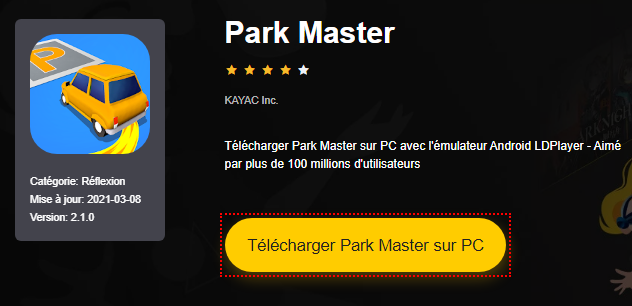 Installer Park Master sur PC
