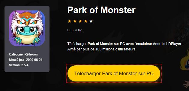 Installer Park of Monster sur PC