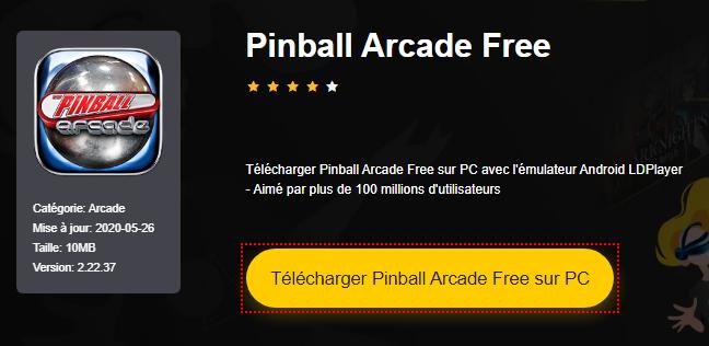 Installer Pinball Arcade Free sur PC