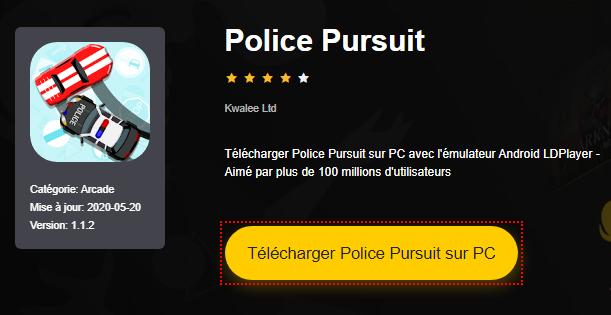 Installer Police Pursuit sur PC