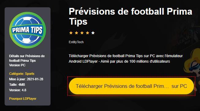 Installer Prévisions de football Prima Tips sur PC