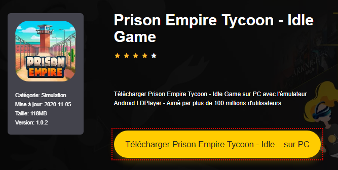 Installer Prison Empire Tycoon - Idle Game sur PC