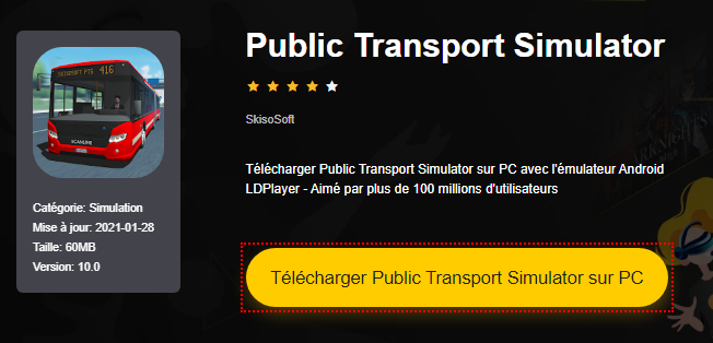 Installer Public Transport Simulator sur PC