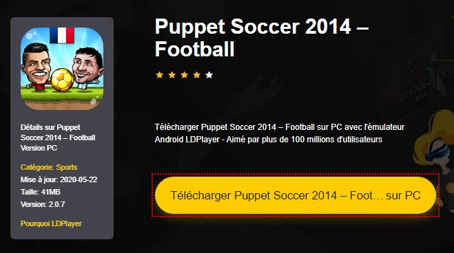 Installer Puppet Soccer 2014 – Football sur PC