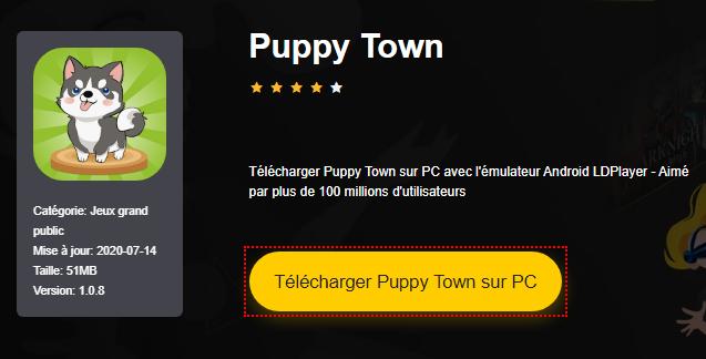 Installer Puppy Town sur PC