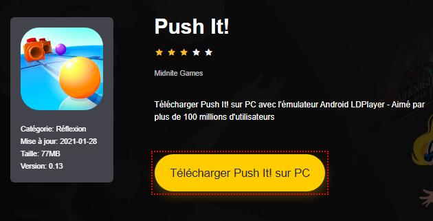 Installer Push It! sur PC