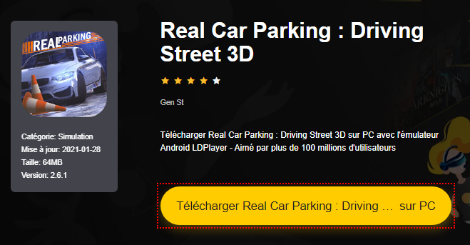 Installer Real Car Parking : Driving Street 3D sur PC
