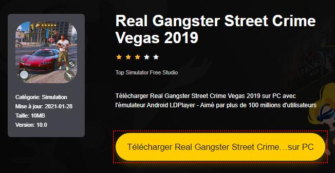 Installer Real Gangster Street Crime Vegas 2019 sur PC