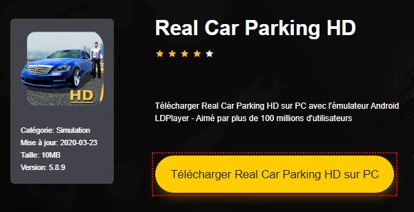 Installer Real Car Parking HD sur PC