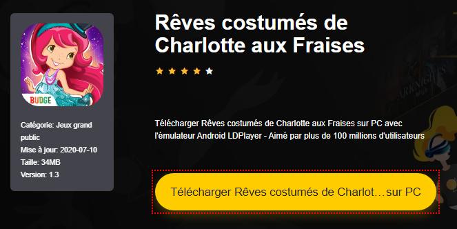Installer Rêves costumés de Charlotte aux Fraises sur PC