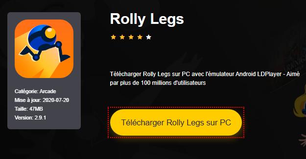 Installer Rolly Legs sur PC