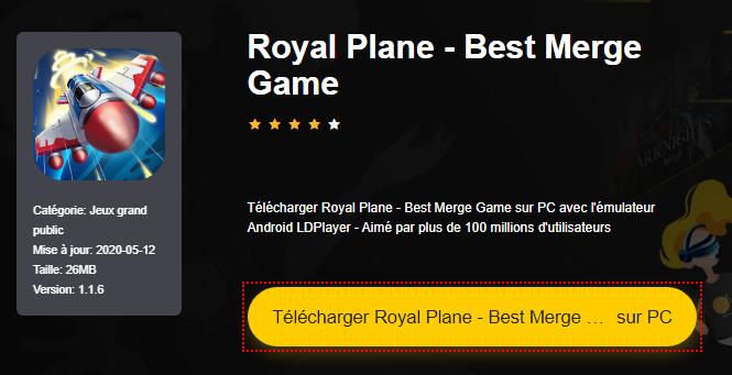 Installer Royal Plane - Best Merge Game sur PC