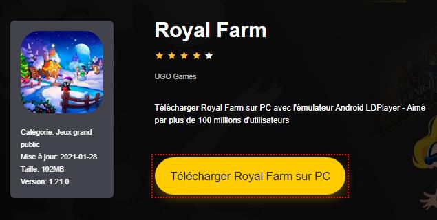 Installer Royal Farm sur PC