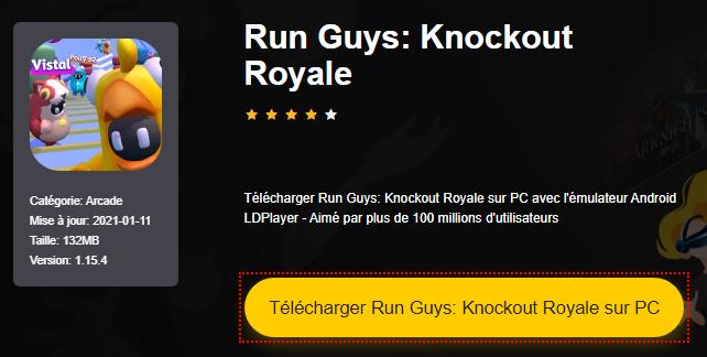 Installer Run Guys: Knockout Royale sur PC