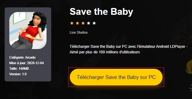 Installer Save the Baby sur PC