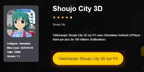 Installer Shoujo City 3D sur PC