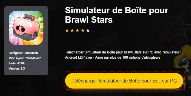 Installer Simulateur de Boîte pour Brawl Stars sur PC