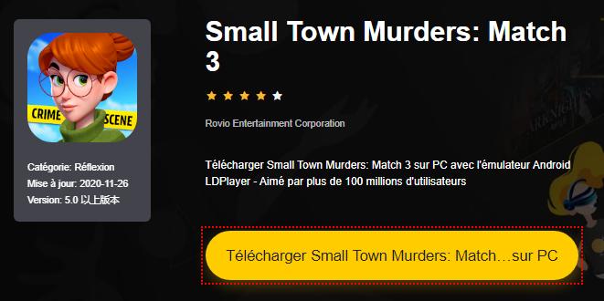 Installer Small Town Murders: Match 3 sur PC