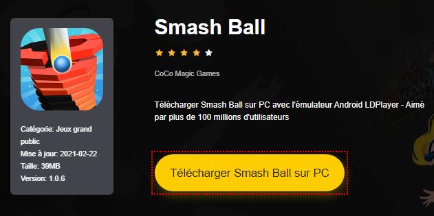 Installer Smash Ball sur PC