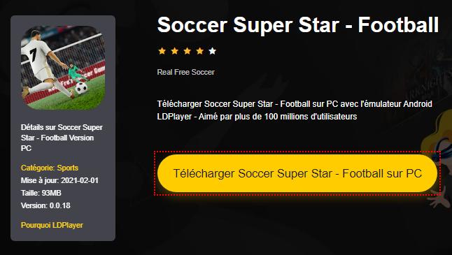 Installer Soccer Super Star - Football sur PC