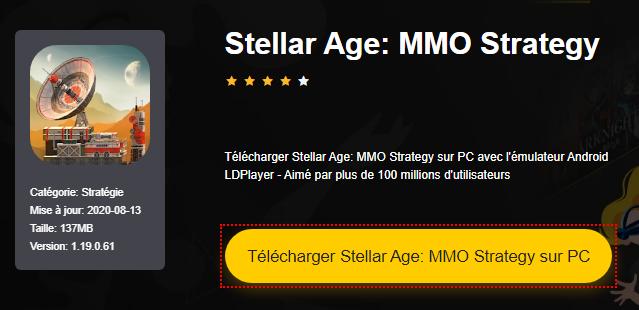 Installer Stellar Age: MMO Strategy sur PC