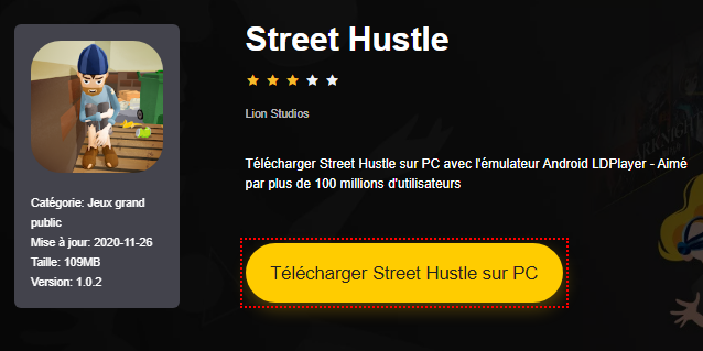 Installer Street Hustle sur PC