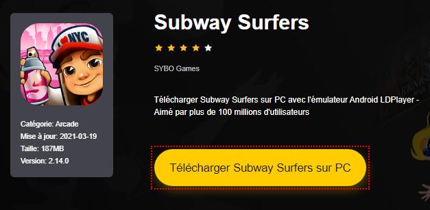 Installer Subway Surfers sur PC
