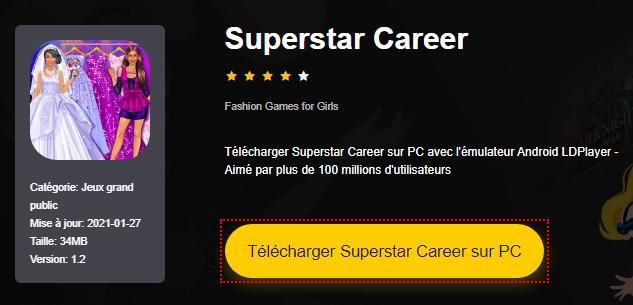 Installer Superstar Career sur PC