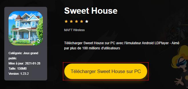 Installer Sweet House sur PC