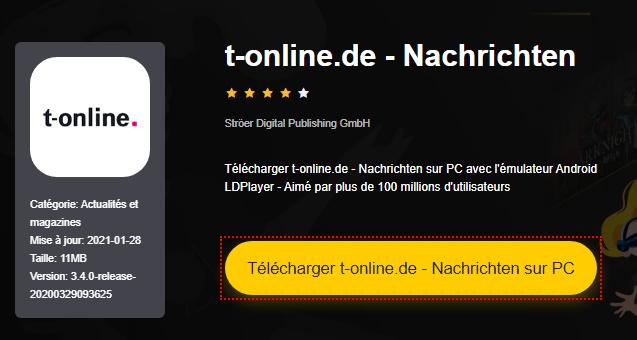 Installer t-online.de - Nachrichten sur PC