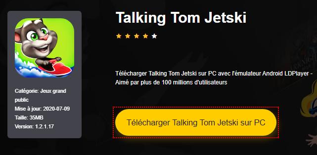 Installer Talking Tom Jetski sur PC