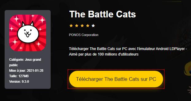 Installer The Battle Cats sur PC