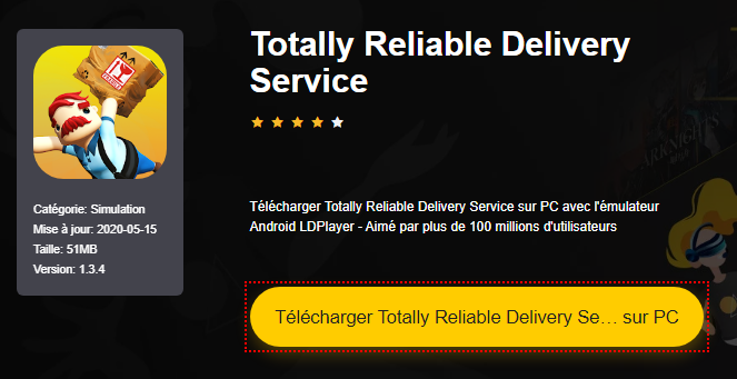 Installer Totally Reliable Delivery Service sur PC