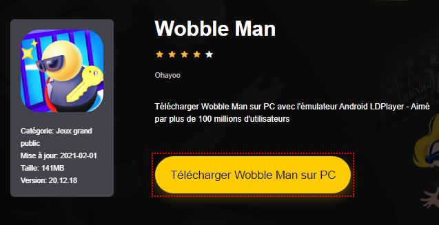 Installer Wobble Man sur PC