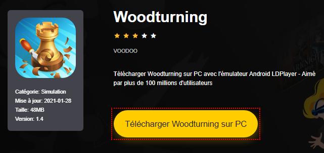 Installer Woodturning sur PC