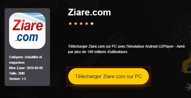 Installer Ziare.com sur PC